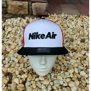 Nike Air Pro Capsule Snapback Adjustable White red